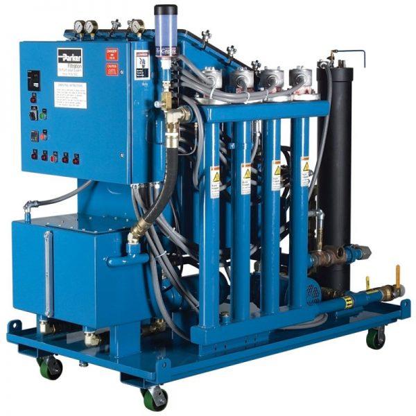 Equipos de filtración hidráulica